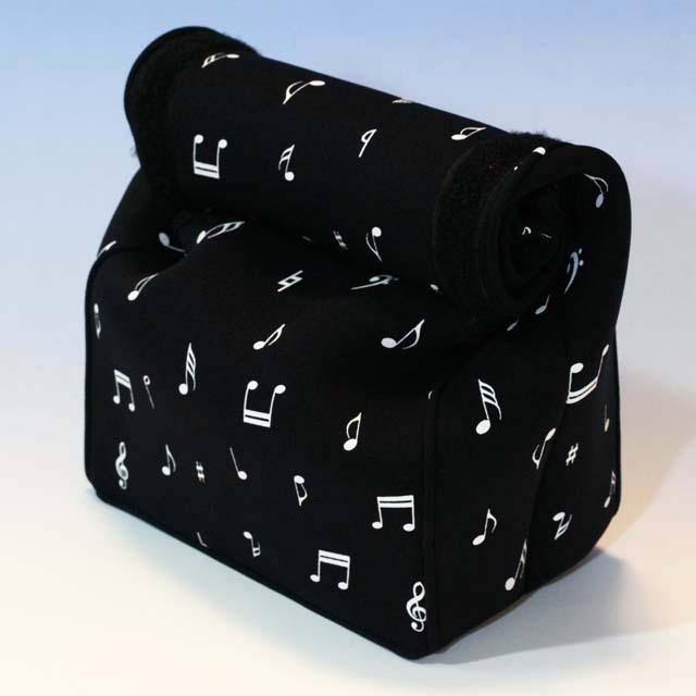 ランチバッグ ウェットスーツ素材 音符 音楽雑貨