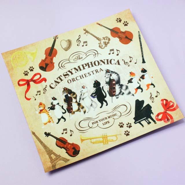 Cat Symphonica オーケストラ クロス 音楽雑貨