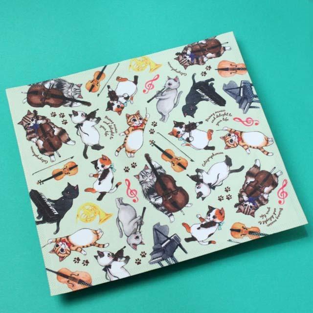 Cat Symphonica 楽器 クロス 音楽雑貨