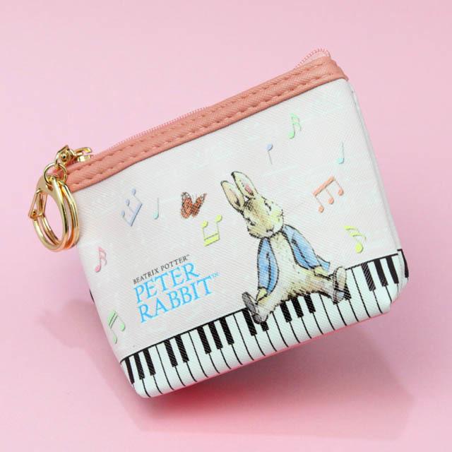 ピーターラビット コインパース 鍵盤 音楽雑貨