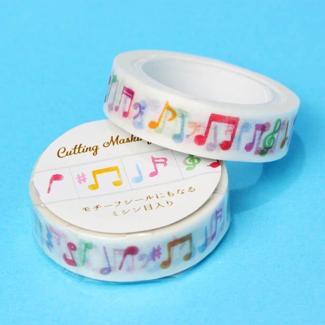音符 マスキングテープ 音楽雑貨