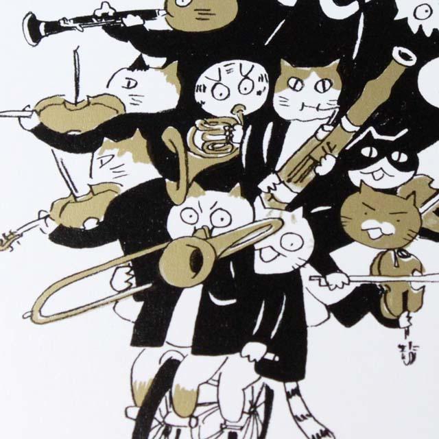 Musical Circus 3 ポストカード 自転車スター 音楽雑貨 音楽グッズ