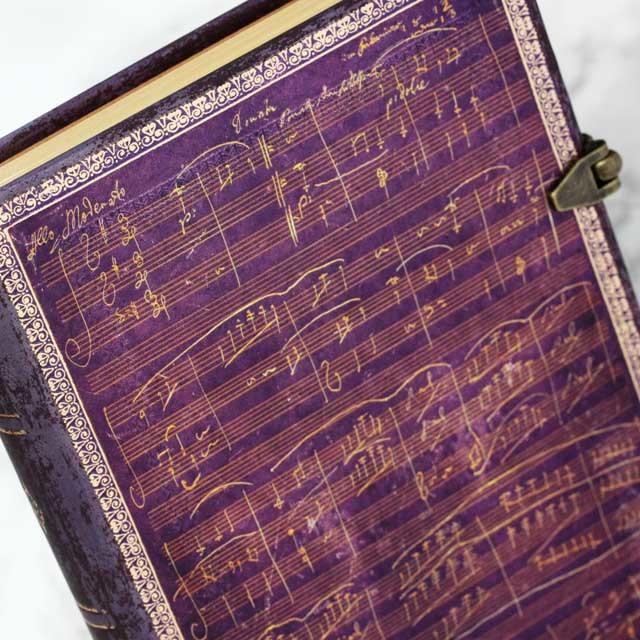 paperblanks ノート ベートーヴェン Beethoven ヴァイオリン・ソナタ 音楽雑貨 音楽グッズ