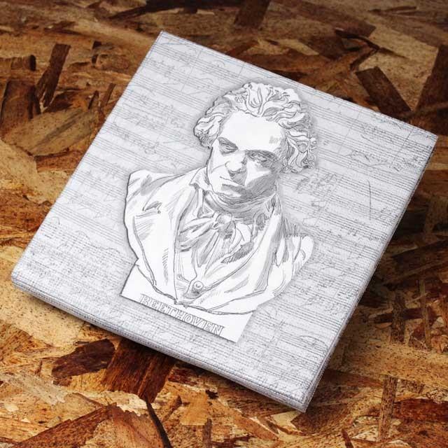 ペーパーナプキン ベートーヴェン Beethoven 音楽雑貨