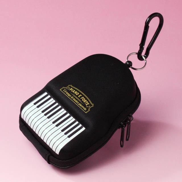 グランドピアノ パスケース コインケース 音楽雑貨