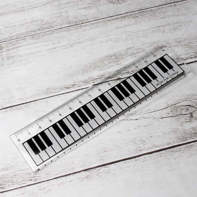 ピアノ 鍵盤 定規 スケール 音楽雑貨 音楽グッズ
