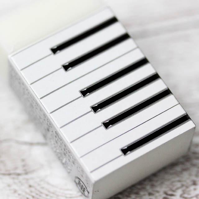 ピアノ 鍵盤 消しゴム 音楽雑貨 音楽グッズ