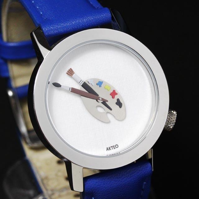 AKTEO 腕時計 paint 画家