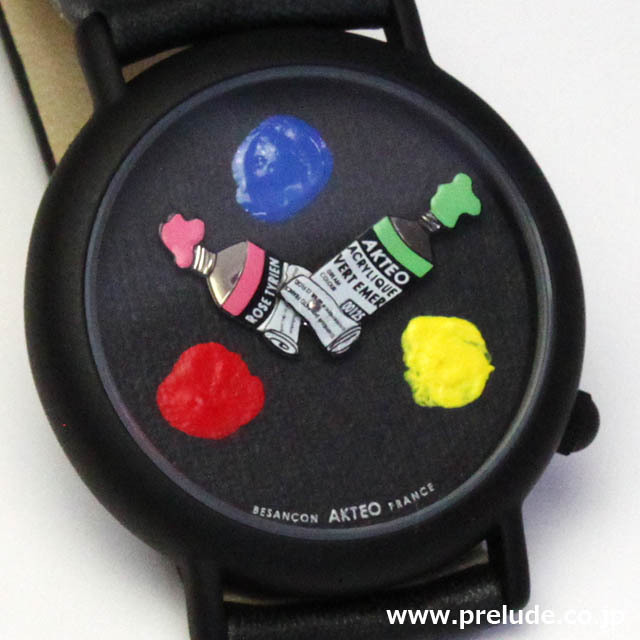 AKTEO 腕時計 PAINT 03 画家 ペイント