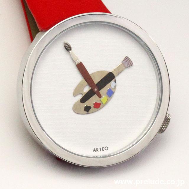 AKTEO 腕時計 PAINT 02 48 画家 ペイント