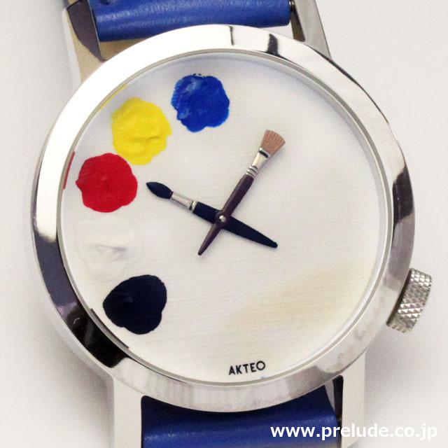 AKTEO 腕時計 PAINT 01 42               画家 ペイント
