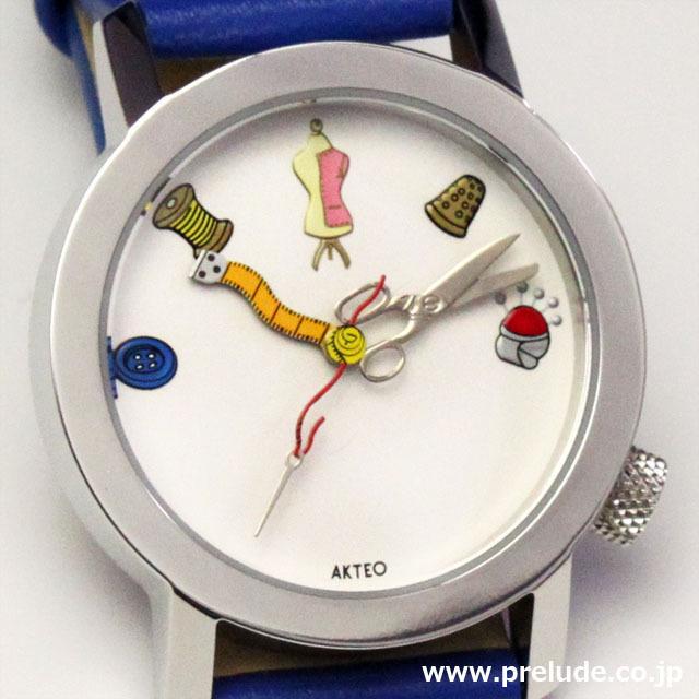 AKTEO 腕時計 HOT COUTURE01 オートクチュール 服飾デザイナー