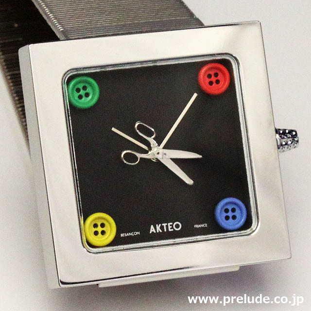 AKTEO 腕時計 HOT COUTURE KUBIK 1.2 オートクチュール 服飾デザイナー