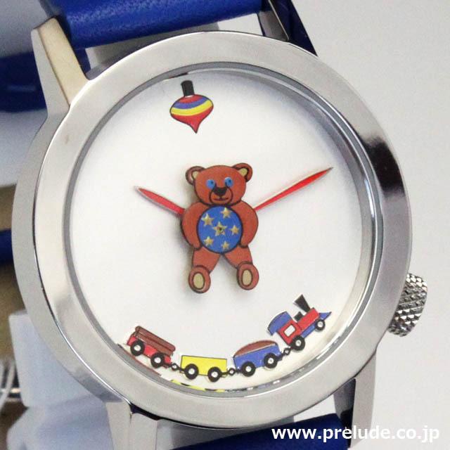 AKTEO 腕時計 TEDDY BEAR  キッズスピリッツ