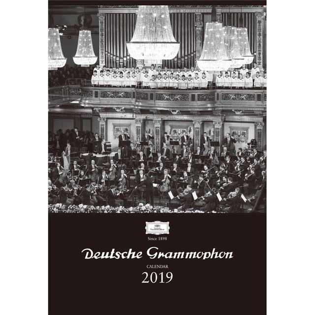 ドイツグラモフォン カレンダー 2019 音楽雑貨