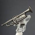 トランペット Trumpet ブローチ 楽器グッズ 音楽雑貨