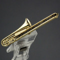 トロンボーン Trombone ブローチ 楽器グッズ 音楽雑貨