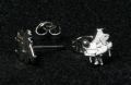 シルバーミニピアス SV992 グランドピアノ 音楽雑貨