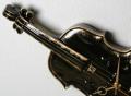 陶器製掛時計 ヴァイオリン 音楽雑貨 ギフト