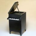 桐製 グランドピアノ ダストボックス 【L】 音楽雑貨 鍵盤
