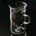 グラス マグカップ 耐熱ガラス ヴァイオリン 音楽雑貨 音楽ギフト 音楽グッズ