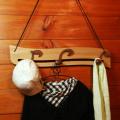 音符の壁掛け コート掛け 銘木 音楽雑貨 音楽グッズ 音楽ギフト 音楽小物