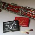 リードケース(5本用) ファゴット スヌーピー 音楽雑貨 音楽グッズ 楽器用品 音楽ギフト