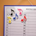 8分音符 マグネット 事務用品 文具 音楽雑貨 音楽ギフト 音楽グッズ