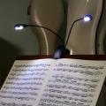 譜面台 ライト 照明 オーケストラピット 演奏グッズ 音楽雑貨 音楽グッズ