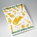 Brass Band Power トランペット ホルン トロンボーン サックス 音楽雑貨 音楽グッズ