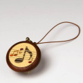 8分音符 寄せ木 象嵌 携帯ストラップ 音楽雑貨 音楽グッズ 音楽小物