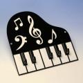音楽キーフック 音符 鍵盤 音楽雑貨 音楽ギフト 音楽グッズ