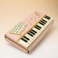 ピアノ 鍵盤 パッチワーク カード入 札入 音楽雑貨 音楽グッズ 音楽小物