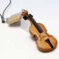 Wooden チャーム 弦楽器 ヴィオラ 音楽雑貨