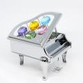 グランドピアノ オーナメント スワロフスキー 音楽雑貨