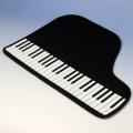 ウェットスーツ素材 ランチョンマット ピアノ鍵盤 音楽雑貨 音楽グッズ
