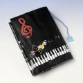 ブックカバー ピアノ鍵盤 音楽雑貨 音楽グッズ Bonjour Mie!