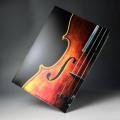 クリアファイル クリアフォルダ 音楽雑貨 ヴァイオリン