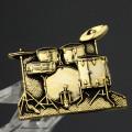 ドラムセット Drum Set ブローチ 楽器グッズ 音楽雑貨