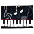 フロアマット ピアノ 鍵盤 音楽雑貨 音楽グッズ