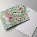 Shizuka Karasawa 絵葉書 Valse Chopin 音楽雑貨