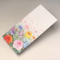 お札が入る封筒 花と音符 音楽雑貨 音楽小物