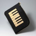 ティッシュケースポーチ 音楽雑貨 音楽グッズ ピアノ鍵盤