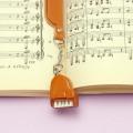 本革製 ブックマーク グランドピアノ 音楽雑貨 音楽グッズ
