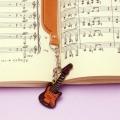 本革製 ブックマーク エレキギター 音楽雑貨 音楽グッズ