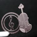 譜めくりマーカー 楽譜タブ 音楽雑貨 ヴァイオリン