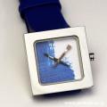 AKTEO 腕時計 BLUE PAINT KUBIK LADY 画家 ペイント