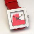 AKTEO 腕時計 RED PAINT KUBIK LADY 画家 ペイント