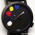 AKTEO 腕時計 PAINT 01 42 BLACK      画家 ペイント