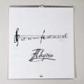 ショパン Chopin カレンダー 2019 音楽雑貨
